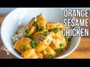 Полезный рецепт курицы с апельсином и кунжутом. Healthy Orange Sesame Chicken / Pollo de Sesamo y Naranja