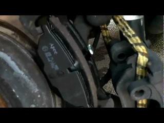 Замена задних тормозных колодок на Rover 75