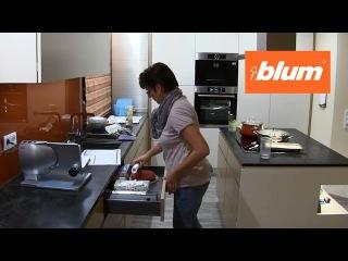 Фурнитура BLUM. Использование системы TIP-ON BLUMOTION с ящиками LEGRABOX
