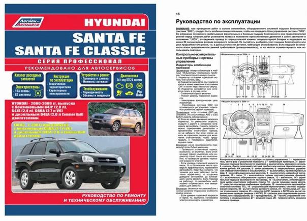 купить хендай санта фе 2012 инструкция по эксплуатации для