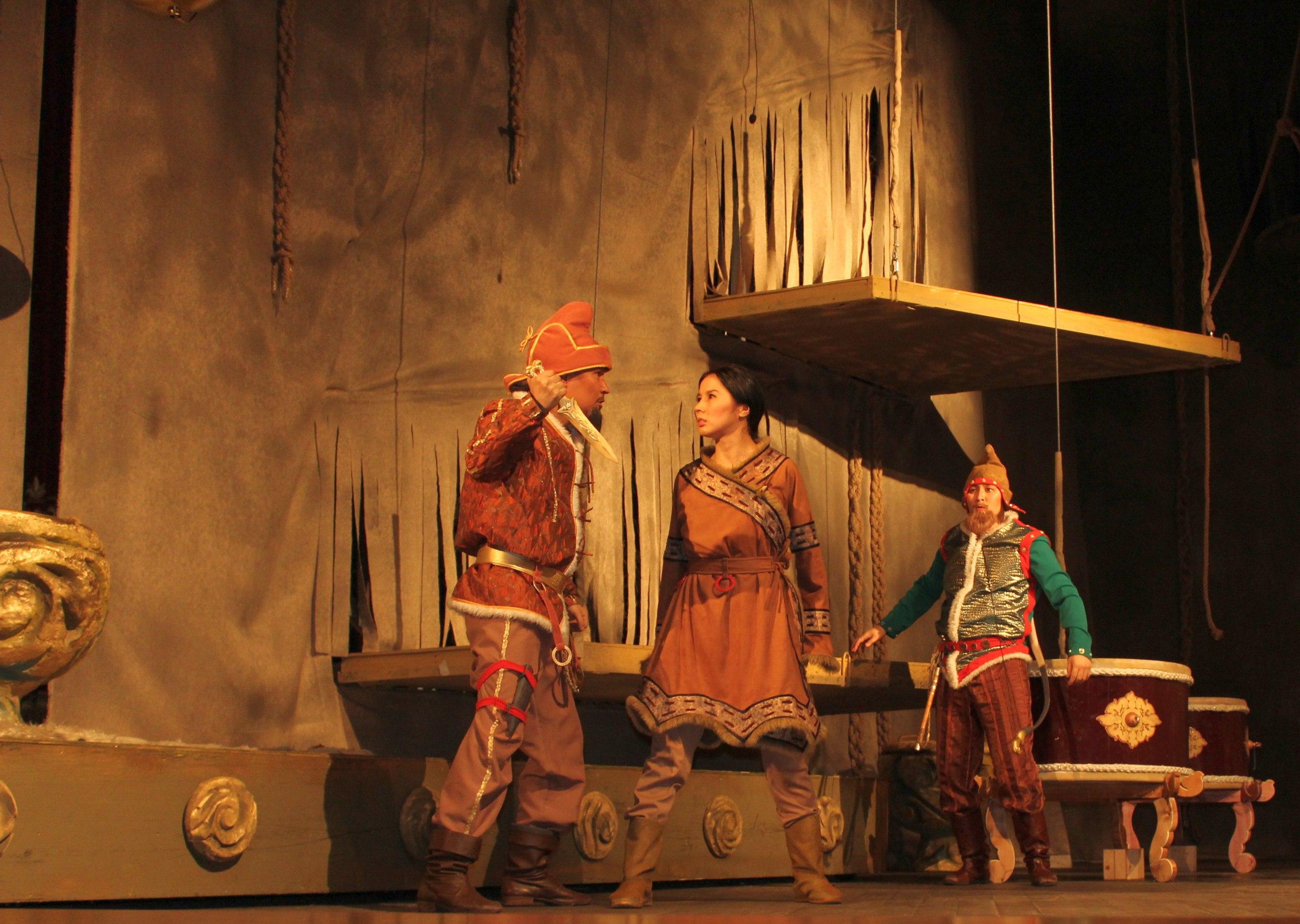 Сегодня состоялась премьера музыкальной легенды «Чадаган»