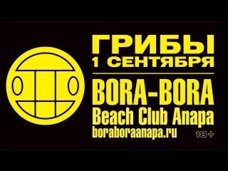 Пляж-ресторан Bora-Bora! 1 сентября. Грибы!