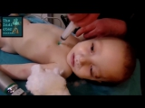The White Helmets video and How to NOT correctly perform intracardiac injection (2)