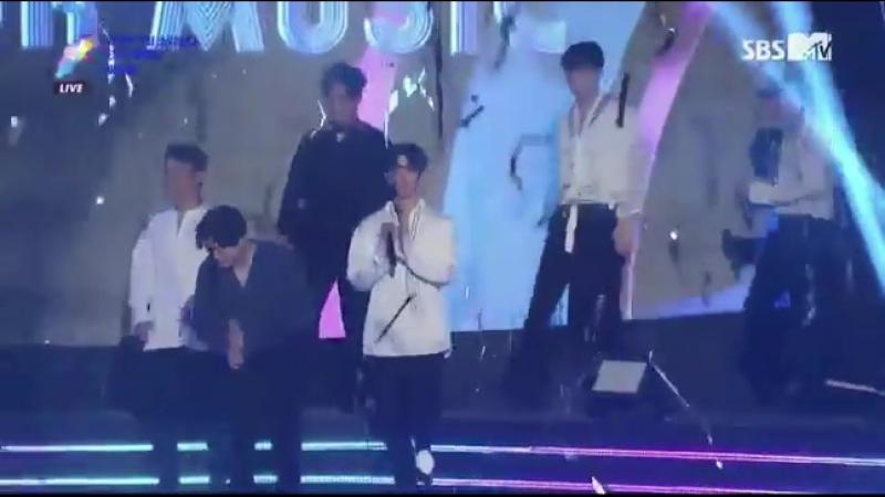[VIDEO] 170920 EXO @ Soribada Awards   DAESANG Award 1/3