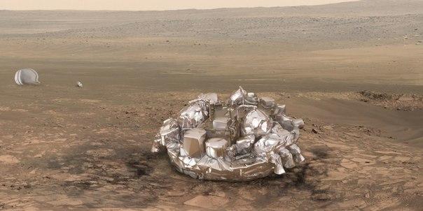 Разобьется ли будущий марсианский ровер при посадке?