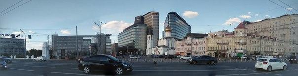 Панорама с площади Белорусского вокзала. Такой я вижу Россию.