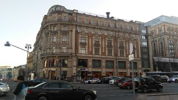 Экстерьер начала Тверской
