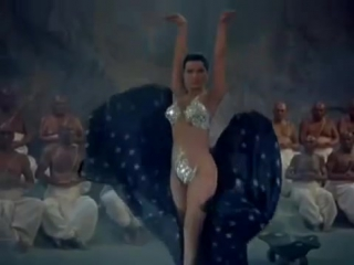 Debra Paget doing the Snake Dance from The Indian Tomb (Das indische Grabmal) - 4674