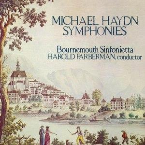 Bournemouth Sinfonietta альбом Michael Haydn: Eight Symphonies