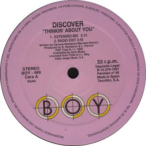 Discover альбом Thinkin' About You