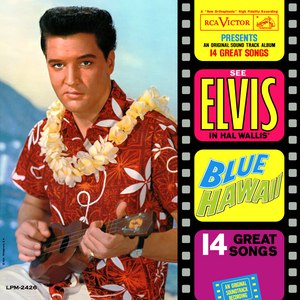 Elvis Presley альбом Blue Hawaii