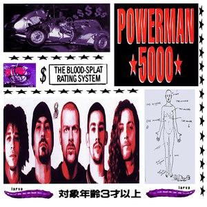 Powerman 5000 альбом The Blood Splat Rating System
