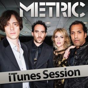 Metric альбом iTunes Session