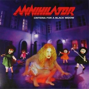 Annihilator альбом Criteria For A Black Widow