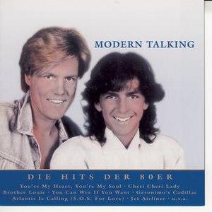 Modern Talking альбом Nur das Beste: Die Hits der 80er
