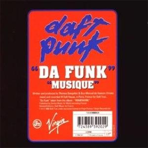 Daft Punk альбом Da Funk