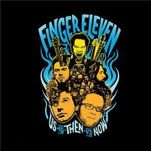 Finger Eleven альбом Us Vs. Then Vs. Now