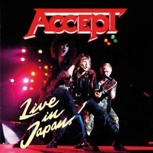 Accept альбом Live In Japan