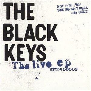 The Black Keys альбом The Live EP