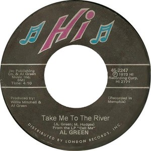 Al Green альбом Take Me To The River
