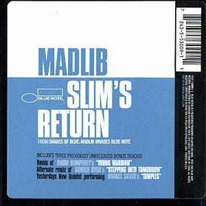 Madlib альбом Slim's Return