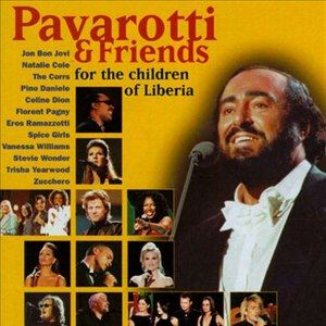 Luciano Pavarotti альбом Pavarotti & Friends For The Children Of Liberia