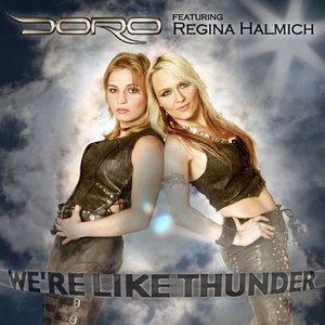 Doro альбом We're Like Thunder