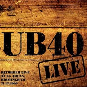 UB40 альбом Live in Birmingham