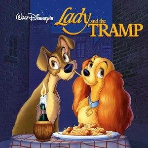 Disney альбом Lady and the Tramp