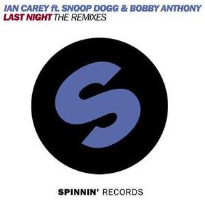 Ian Carey альбом Last Night (The Remixes)