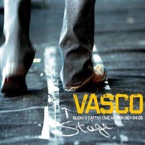 Vasco Rossi альбом Buoni O Cattivi Live Anthology 04.05