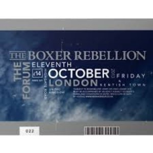 The Boxer Rebellion альбом Live At The Forum