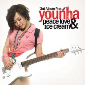 Younha альбом Peace Love & Ice Cream