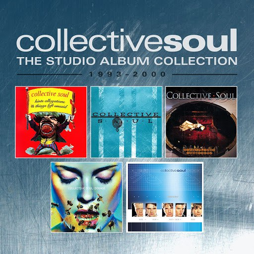 Collective Soul альбом The Studio Album Collection 1993-2000
