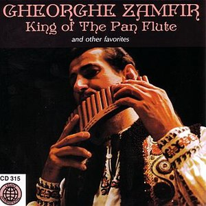 Gheorghe Zamfir альбом King Of The Pan Flute And Other Favorites