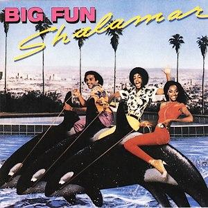 Shalamar альбом Big Fun