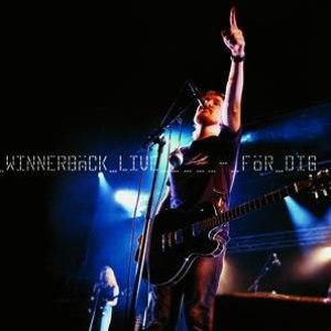 Lars Winnerbäck альбом Winnerbäck live - För dig