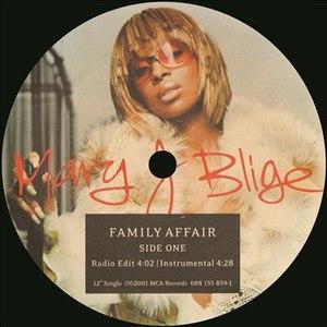 Mary J. Blige альбом Family Affair (Remixes)