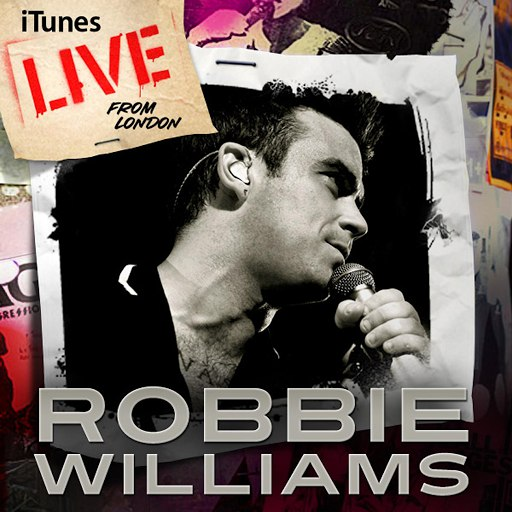Robbie Williams альбом Live From London
