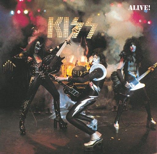 Kiss альбом Alive!