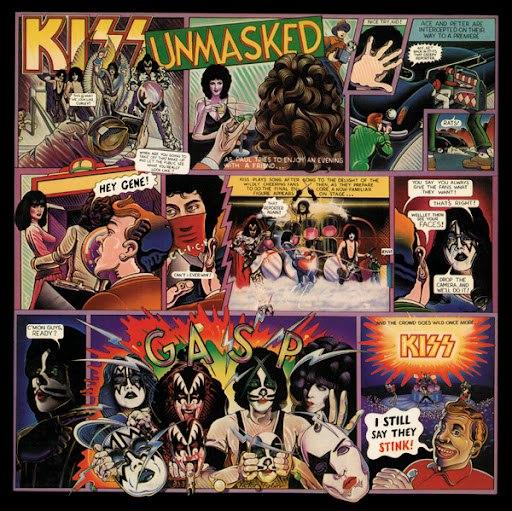 Kiss альбом Unmasked (Remastered)