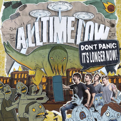 All Time Low альбом Don't Panic: It's Longer Now!