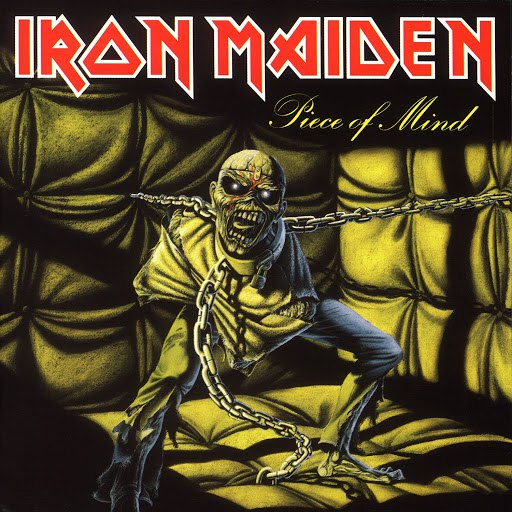 Iron Maiden альбом Piece Of Mind (1998 Remastered Edition)