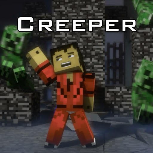 J Rice альбом Creeper (A Minecraft Parody of Thriller)