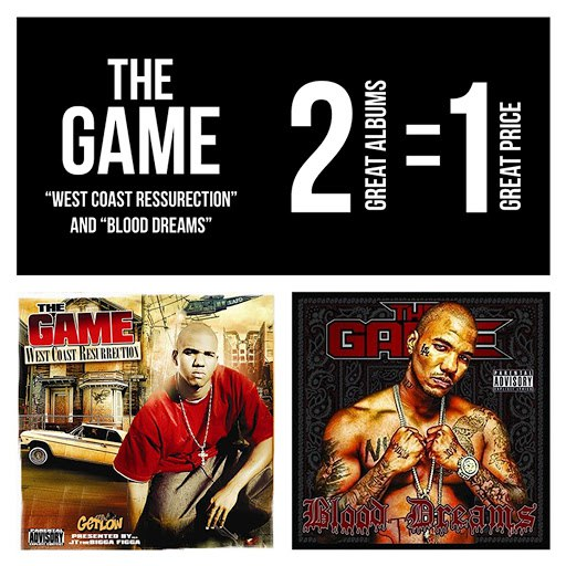 The Game альбом West Coast Resurrection / Blood Dreams