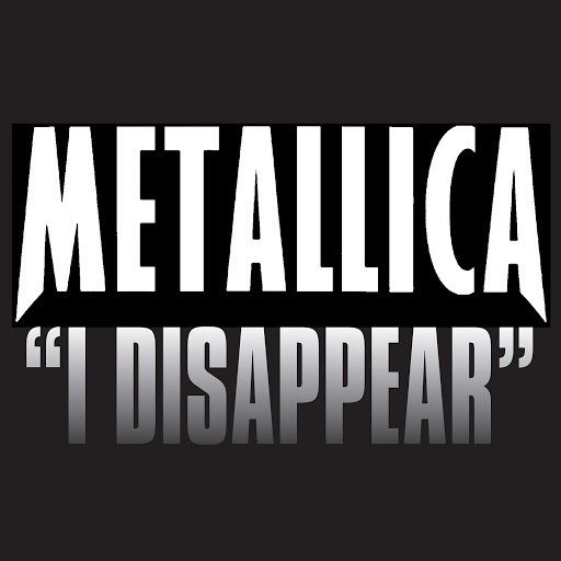 Metallica альбом I Disappear