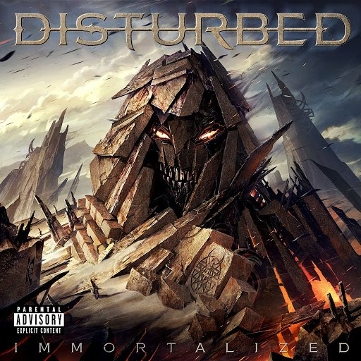 Disturbed альбом Immortalized (Deluxe Version)