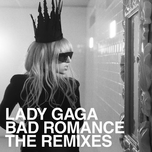 Lady Gaga альбом Bad Romance Remixes (4-Track Maxi-Single)
