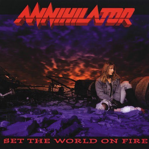 Annihilator альбом Set The World On Fire