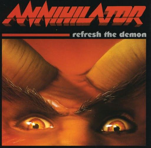 Annihilator альбом Refresh The Demon